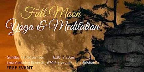 Full Moon Yoga and Meditation tickets