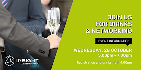Networking Drinks - Innovation and the R&D Tax Incentive tickets