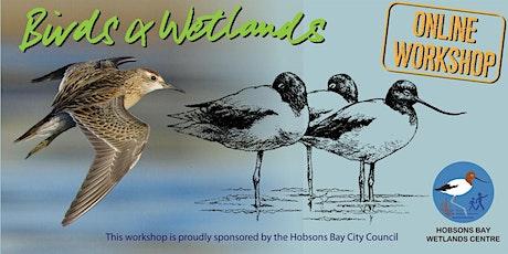 Birds & Wetlands - online workshop with Rob Mancini tickets