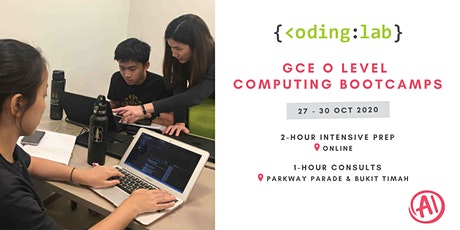 GCE 'O' Level Computing Online 2-Hour Bootcamps tickets