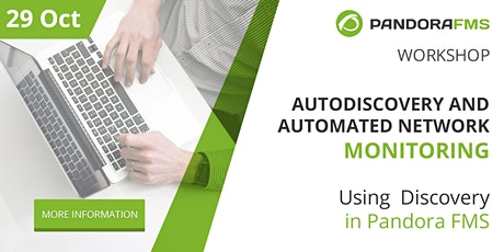 Autodiscovery and automated network monitoring