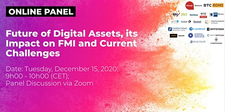 Future of Digital Assets, its Impact on FMI & Current Challenges tickets