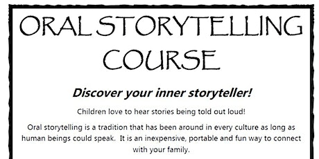Oral Storytelling tickets