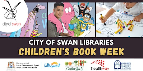 Children's Book Week: Art Workshop with Gavin Aung Than tickets