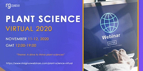 Plant Biology Virtual 2020 tickets