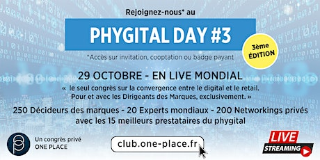 PHYGITAL DAY - RETAIL N°3 - édition 2020 billets