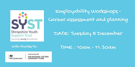 Coaching Employability Programme:- Career Assessment and Planning tickets