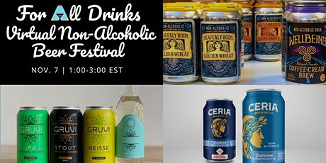 Virtual Non-Alcoholic Beer Festival w/ Gruvi, WellBeing, and CERIA Brewing tickets