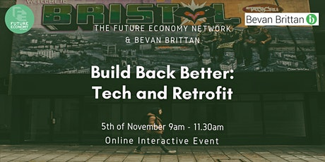 Build Back Better: Tech & Retrofit entradas