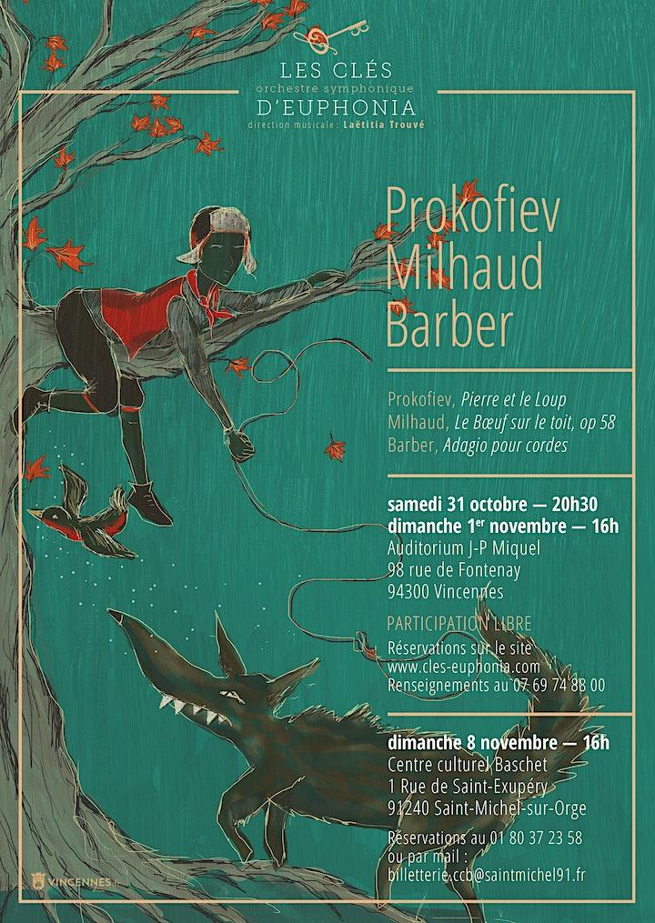 Image pour Concerts automne - 31 octobre / 1er novembre à Vincennes