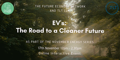 EV's:  The Road to a Cleaner Future (Energy Series Part 3) tickets