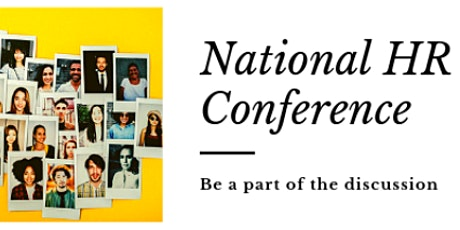 National HR Conference 2021  London tickets