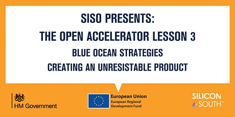 Open Accelerator Workshop 3 - Blue Ocean Strategies tickets