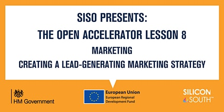Open Accelerator Workshop 8 - Creating a lead-generating marketing strategy tickets
