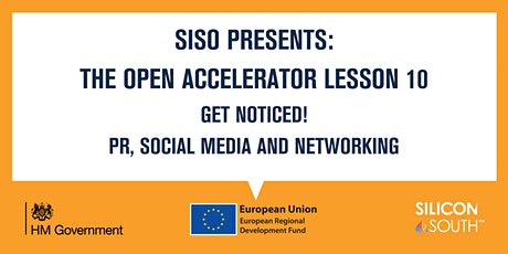 Open Accelerator Workshop 10 - Get noticed! tickets