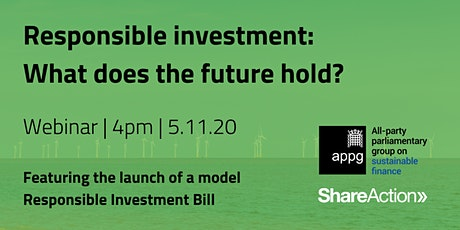 Responsible Investment: What does the future hold? tickets