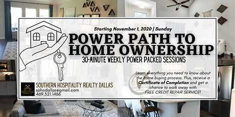 FREE ONLINE: POWER PATH TO HOME OWNERSHIP tickets