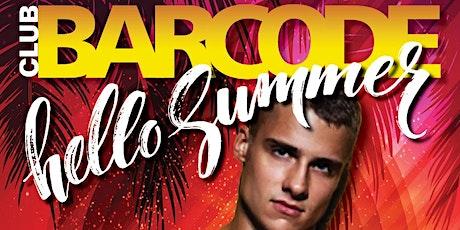 BARCODE SUMMER tickets