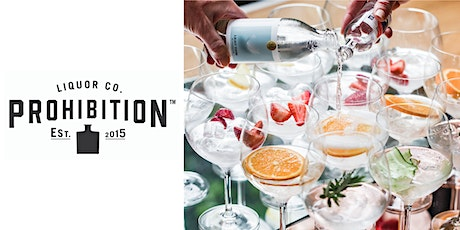 GINTONICA GINORMOUS GIN TASTING | PROHIBITION tickets