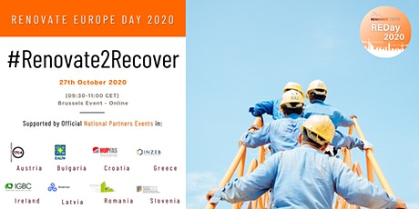Renovate Europe Day 2020 - #Renovate2Recover tickets
