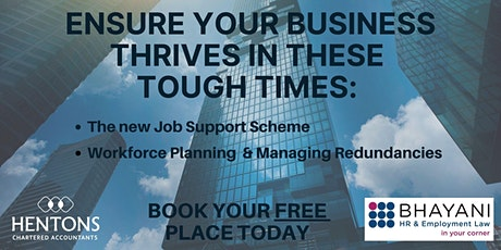 Ensure your business thrives in these tough times tickets