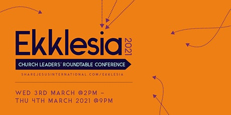 Ekklesia 2021: Church Leaders' Conference tickets