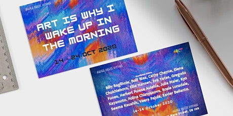 """Art is why I wake up in the morning"" exhibition at Paper Dress Vintage tickets"