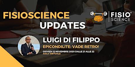Luigi Di Filippo - Epicondilite vade retro! biglietti