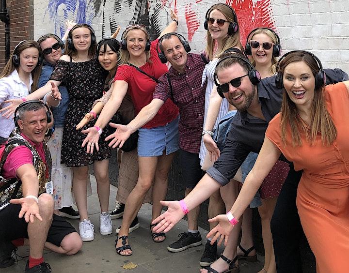 West End Musical Tour Silent Disco Walking Tour #silenttours image