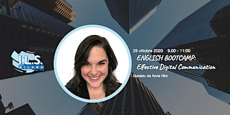 English Bootcamp Effective Digital Communication biglietti