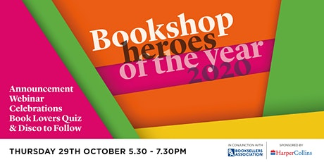 Bookshop Heroes of the Year 2020 (w/ The Bookseller) tickets