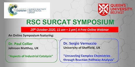RSC SURCAT Symposium tickets