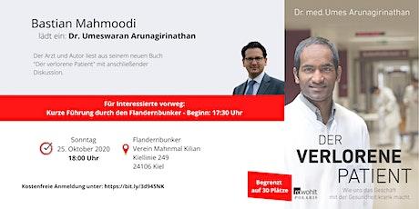 Autorenlesung mit Dr. Umes Arunagirinathan Tickets