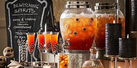 SPOOKY SPIRITS | VIRTUAL HALLOWEEN MIXOLOGY COCKTAIL MAKING CLASS tickets
