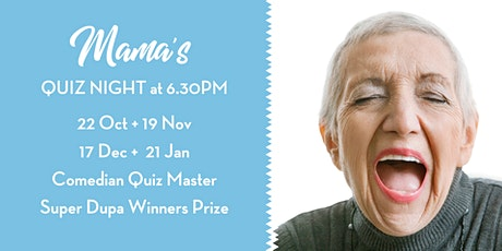 Quiz Night at Mama's tickets