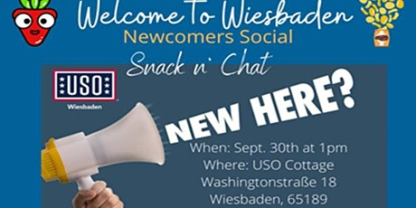 Newcomer's Snack n' Chat tickets
