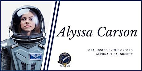 Alyssa Carson, Space Enthusiast & PoSSUM Astronaut-in-Training tickets