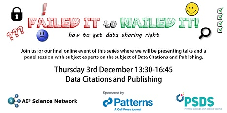 Failed it to Nailed it: Data Citations & Publishing Tickets