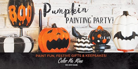 Pumpkin Painting Party! Pottery Painting Party for all ages! tickets