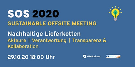 SOS Sustainable Offsite Meeting Tickets