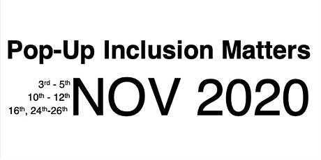 Pop-Up Inclusion Matters Seminar Series: Northern Power tickets