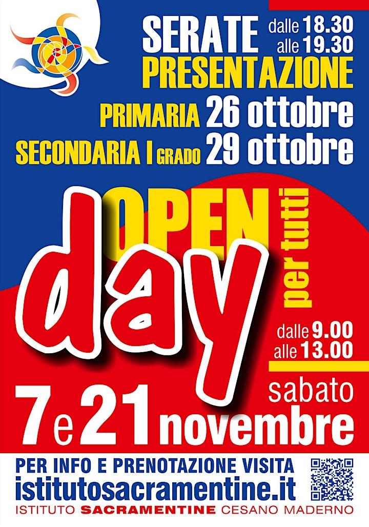 Immagine Copia di Open Day MEDIE - Giovedì 29 Ottobre dalle 18.30 alle 19.30