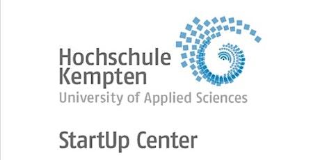 Sprechstunde mit dem StartUp Center der Hochschule Kempten Tickets