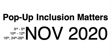Pop-Up Inclusion Matters Seminar Series: DISC tickets