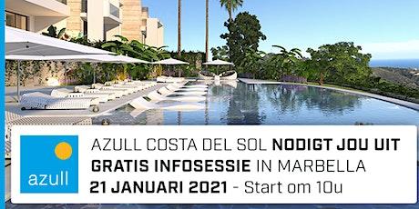 Azull infosessie Marbella - donderdag 21 januari 2021 - 10.00u tickets