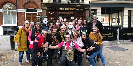 Christmas Party Tour - Silent Disco Walking Tours tickets