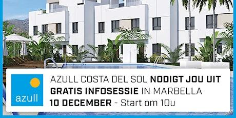 Azull infosessie Marbella - donderdag 10 december - 10.00u tickets