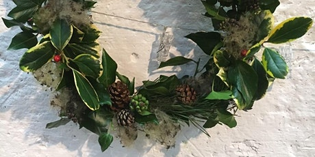 Natural Festive Wreath Making Workshops tickets