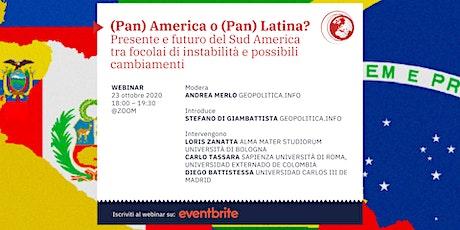 (Pan) America o (Pan) Latina? biglietti