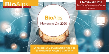BioAlps Networking Day 2020 billets